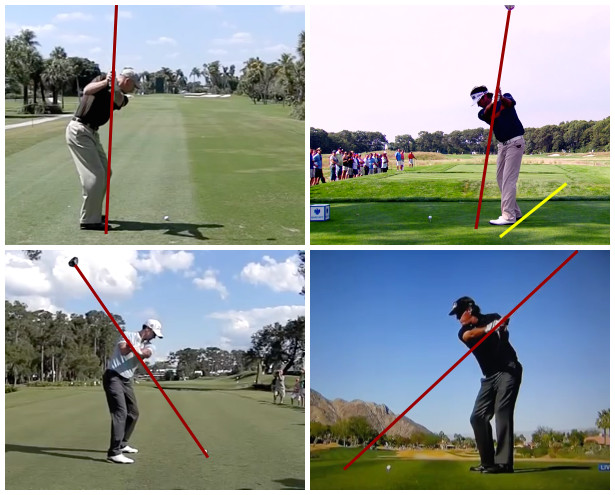 Different PGA Tour Swings